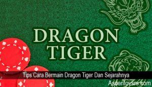 Tips Cara Bermain Dragon Tiger Dan Sejarahnya